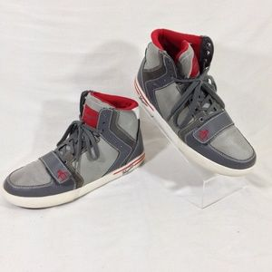Penguin Moby High-top Sneakers Gray Size 10.5